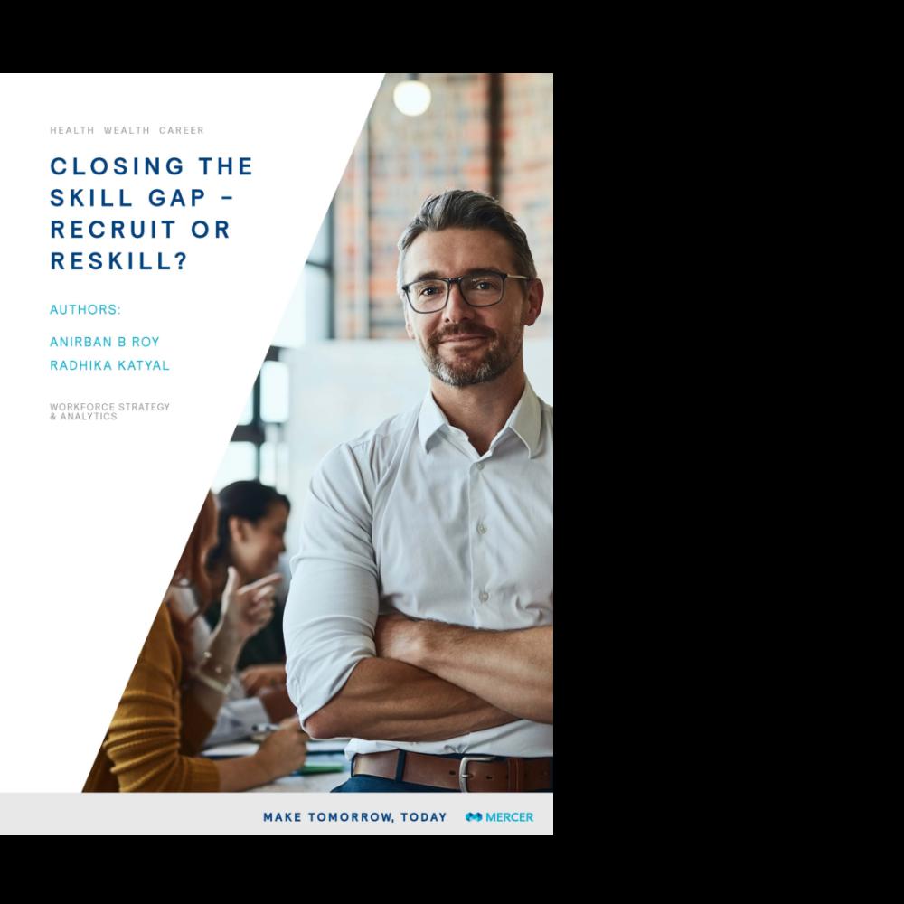 Closing the Skill Gap- Recruit or Reskill?