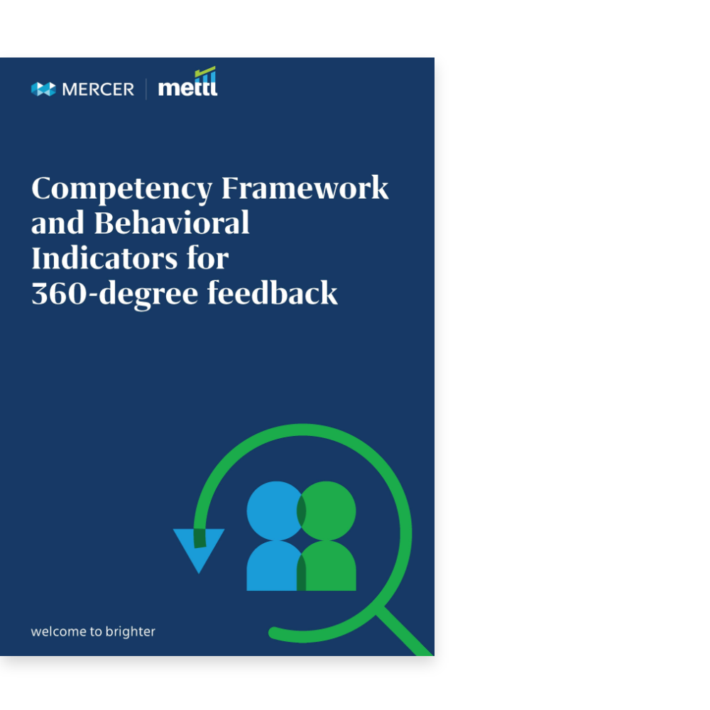 Competency Framework and Behavioral Indicators for 360-Degree Feedback