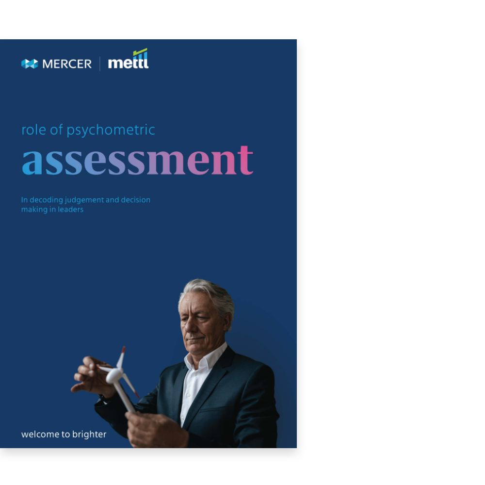 Role of Psychometric Assessment in Decoding Judgement and Decision Making in Leaders