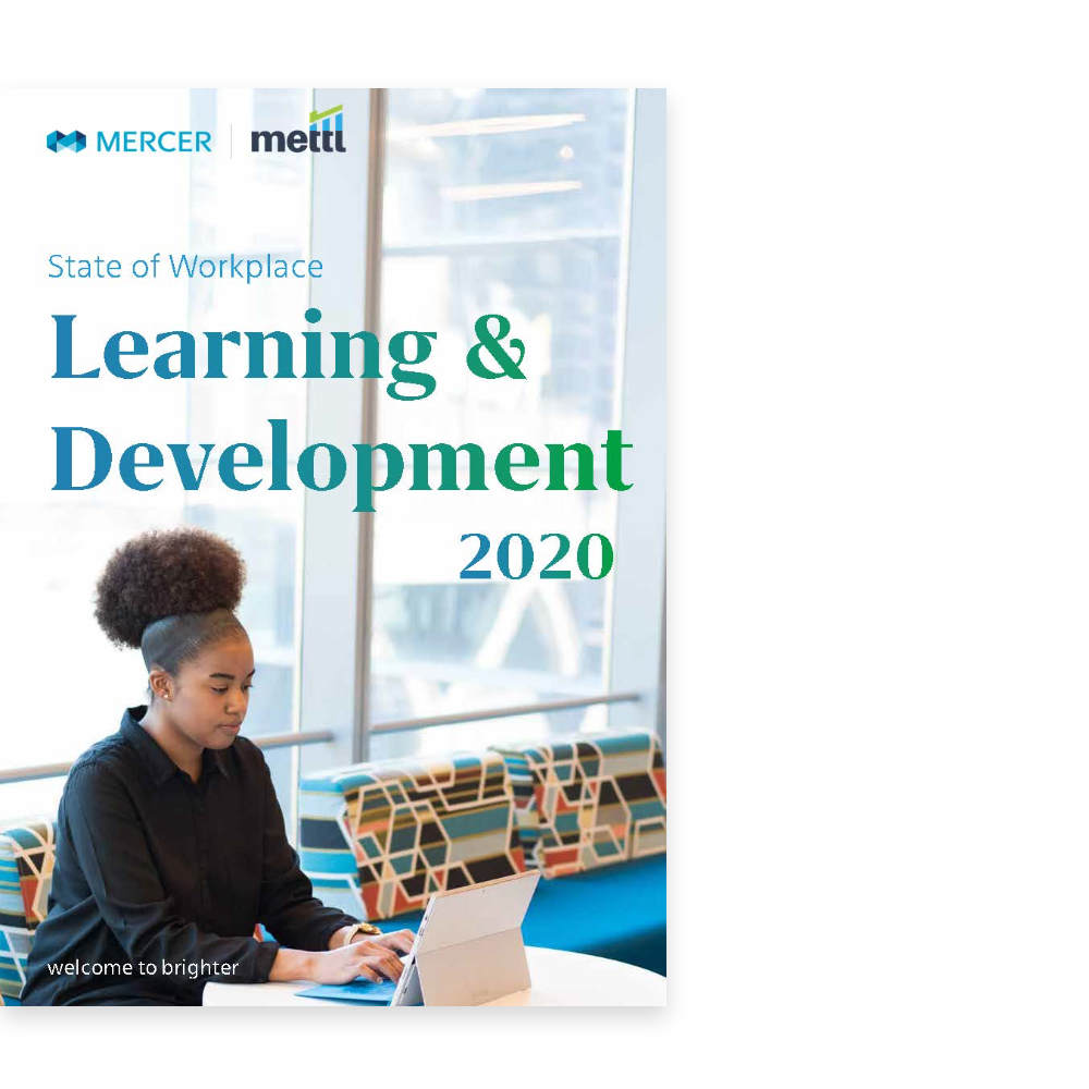 State of Workplace Learning & Development 2020