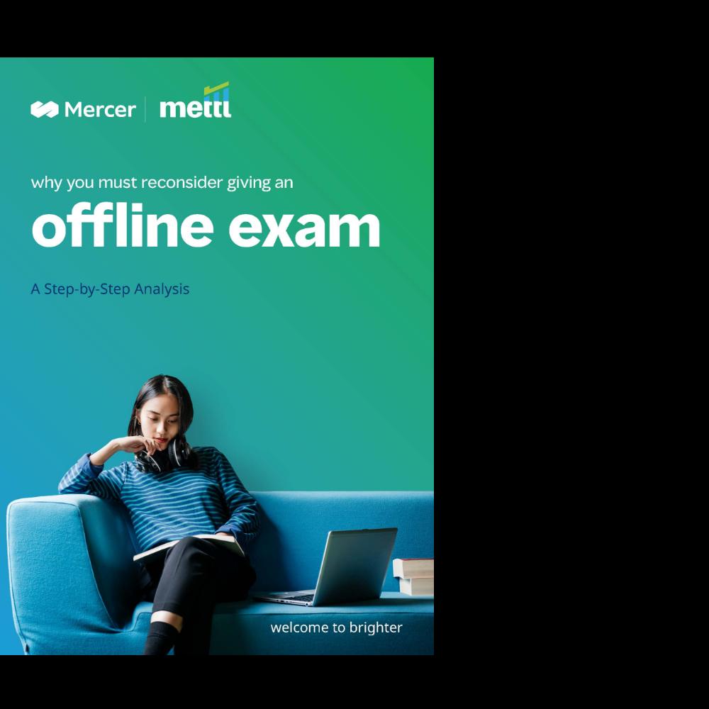 Reconsider Taking Offline Exams