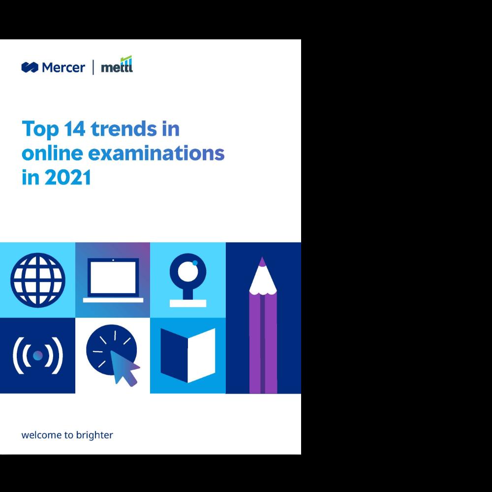 Top 14 trends in online examinations in 2021